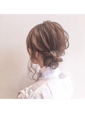 アトレーヴ(atreve)浴衣が似合う☆お祭り、二次会、女子会ヘアアレンジ☆ 吉田達弥