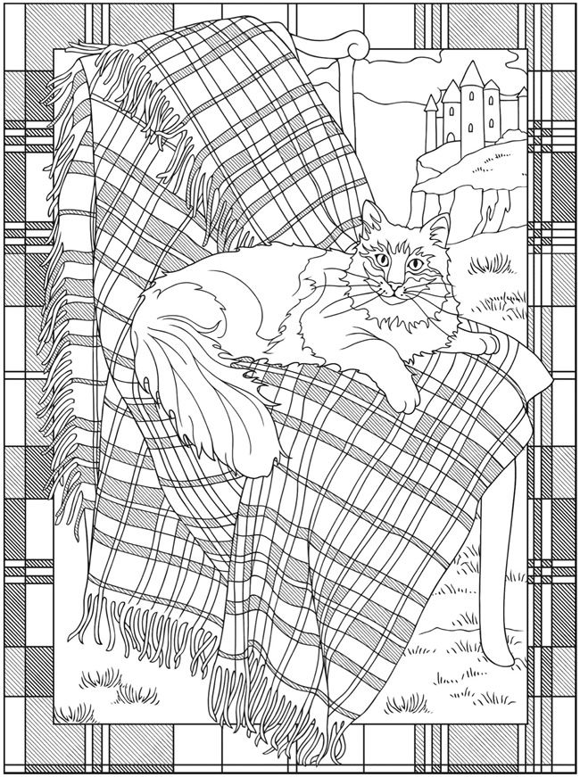 welcome to dover publications creative haven tartan designs coloring book artwork by marty noble pages to colorfree - Free Pages To Color