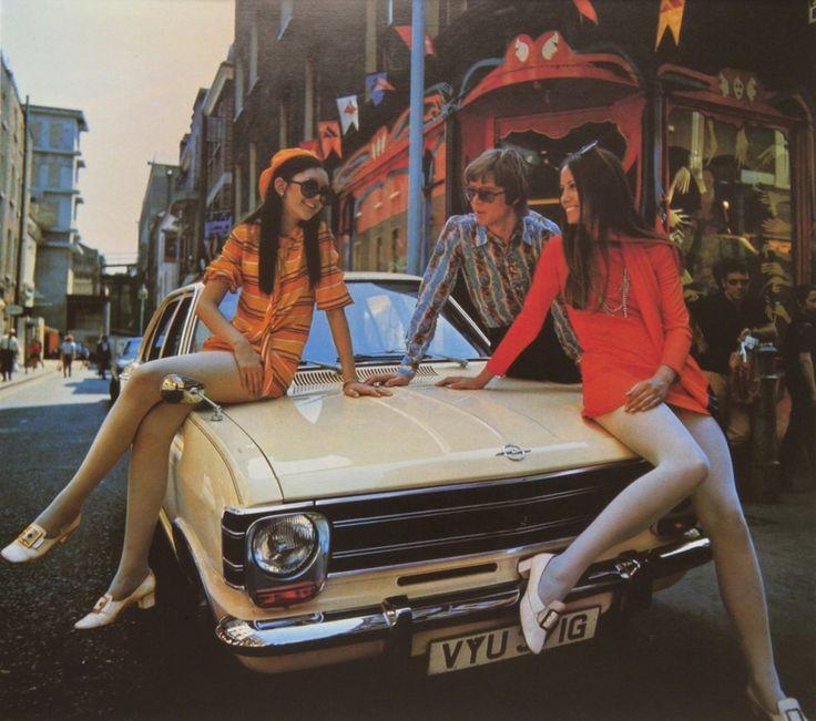 Vintage Opel Ad