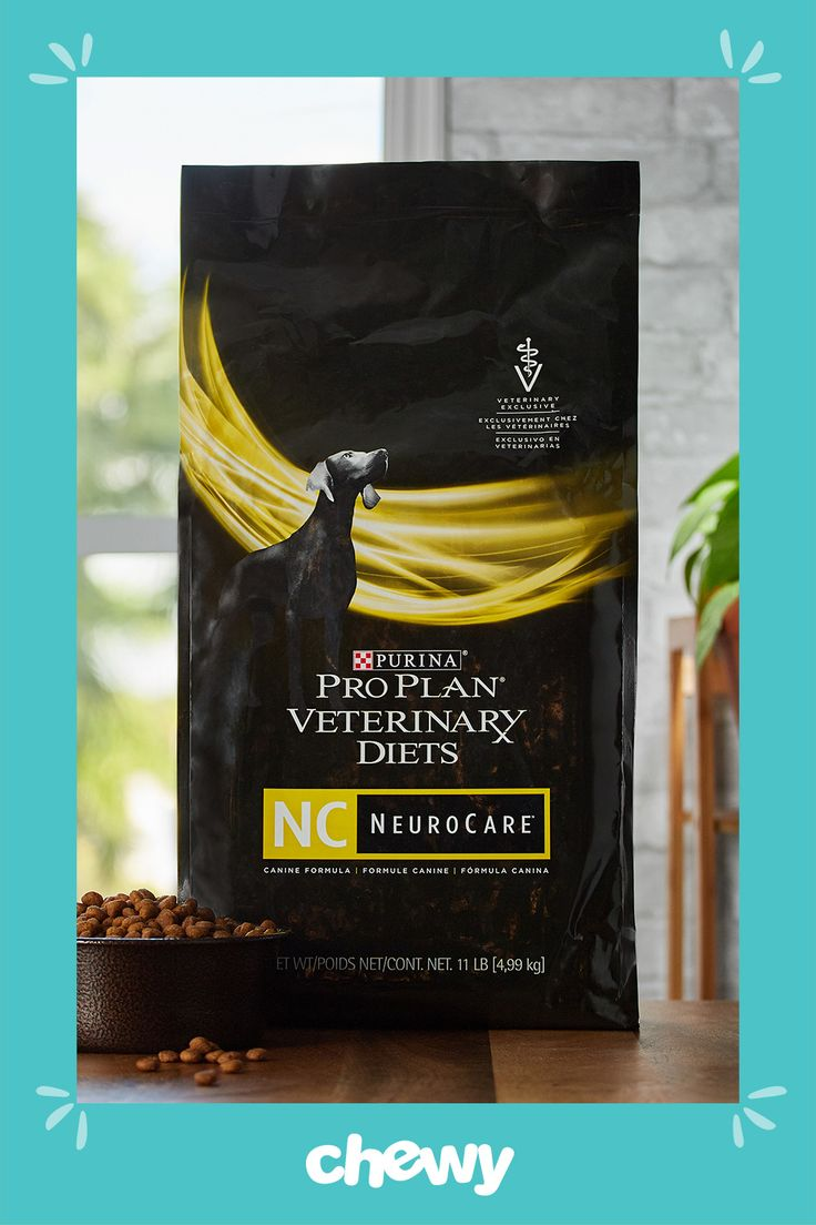 Purina Pro Plan Veterinary Diets Neurocare Dry Dog Food 11 Lb Bag Chewy Com Dry Dog Food Purina Pro Plan Dog Food Recipes