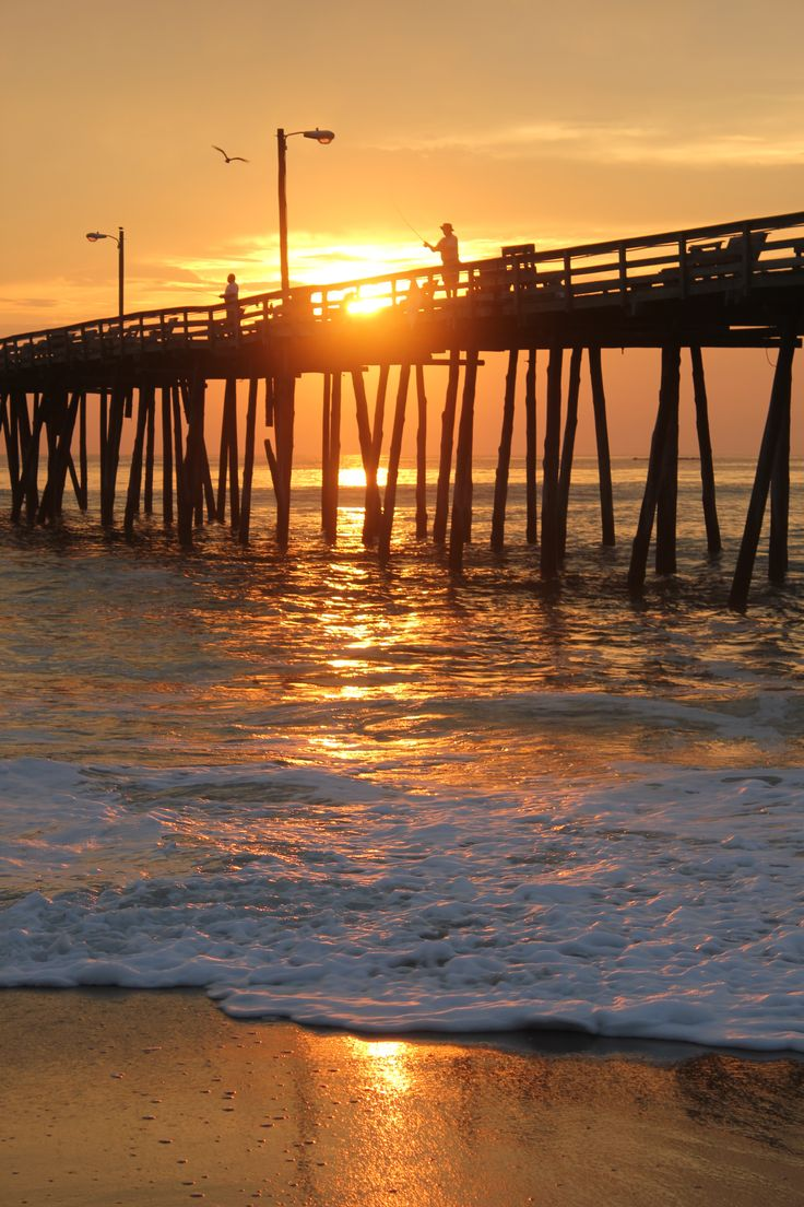 Beach Pier Home Decor For Living Room: 17 Best Images About Piers On The Outer Banks Of NC On