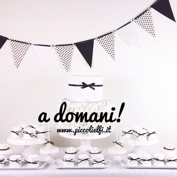 Black and white party www.piccolielfi.it