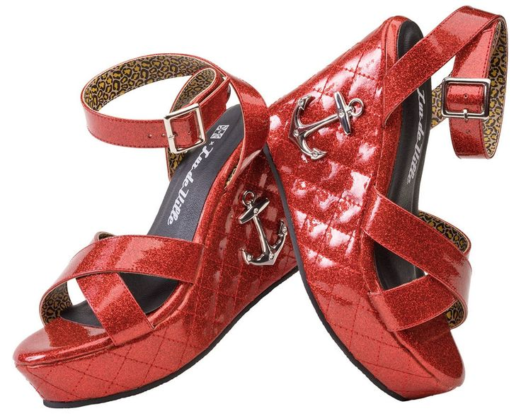 Anchor Red Tuk Shoes