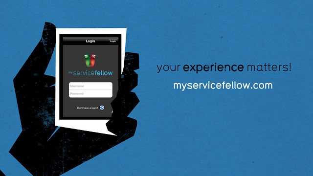 myServiceFellow video tutorial by Nick Lievendag. Animation explaining the myServiceFellow App. More info on http://myservicefellow.com