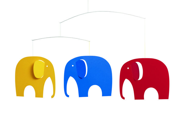 Elephant Party by Flensted Mobiles