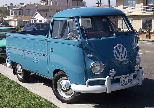 1960 volkswagen pickup truck sweet vintage rides pinterest pickup trucks trucks and. Black Bedroom Furniture Sets. Home Design Ideas