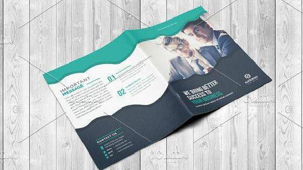 Corporate Bi Fold Brochure Template 2635548 Openload Zippyshare إكتشف أيضا فلاير خاص بالاكل والعجين وا Brochure Template Bi Fold Brochure Brochure