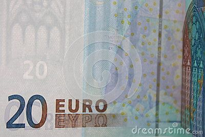 Euro Banknotes 20 - Money Stock Photos - Download From Over 60 Million High Quality Stock Photos, Images, Vectors. Sign up for FREE today. Image: 81222397