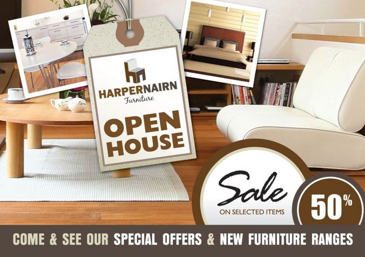 Sale Offer Flyer design for fictional furniture store, to show potential clients the type of design they could have and way to promote their business and services