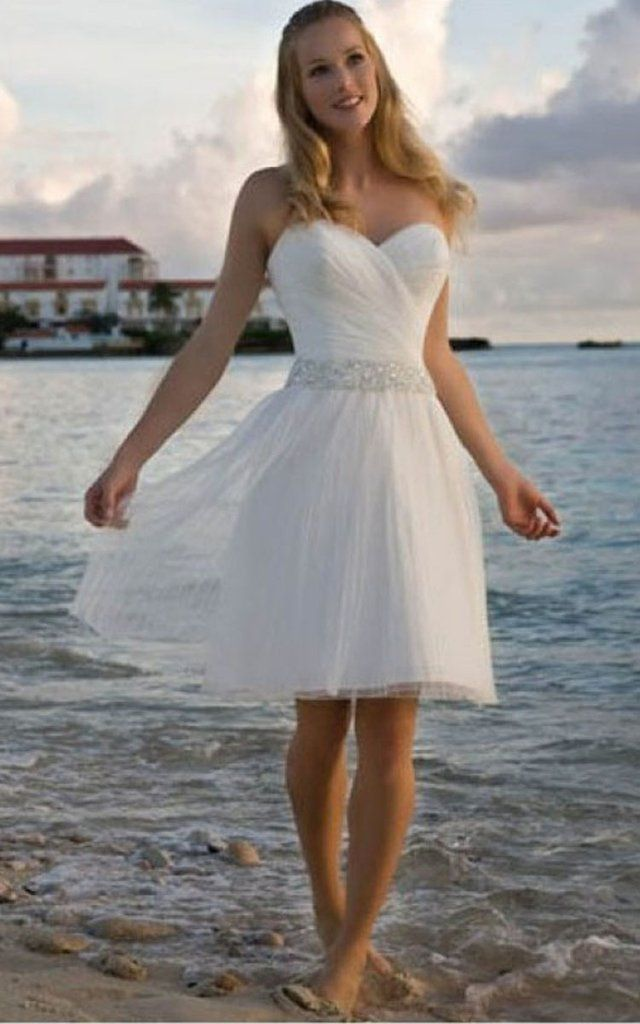 Angelic Crisscross Ruched Bodice Short Dress With Beaded Waist 702506 Casual Beach Wedding Dress Short Wedding Dress Short Bridal Gown