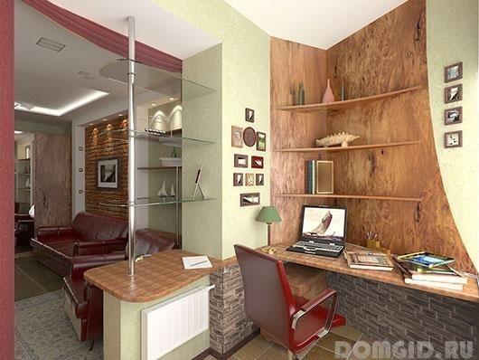 Как сделать кабинет на балконе или лоджии, варианты, советы