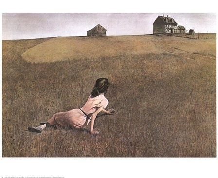 Christina's World, c.1948 by Andrew Wyeth art print This has remained my favorite art and artist