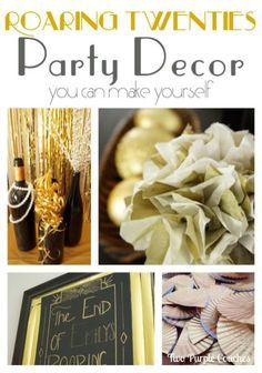Roaring 20s Party Decoration