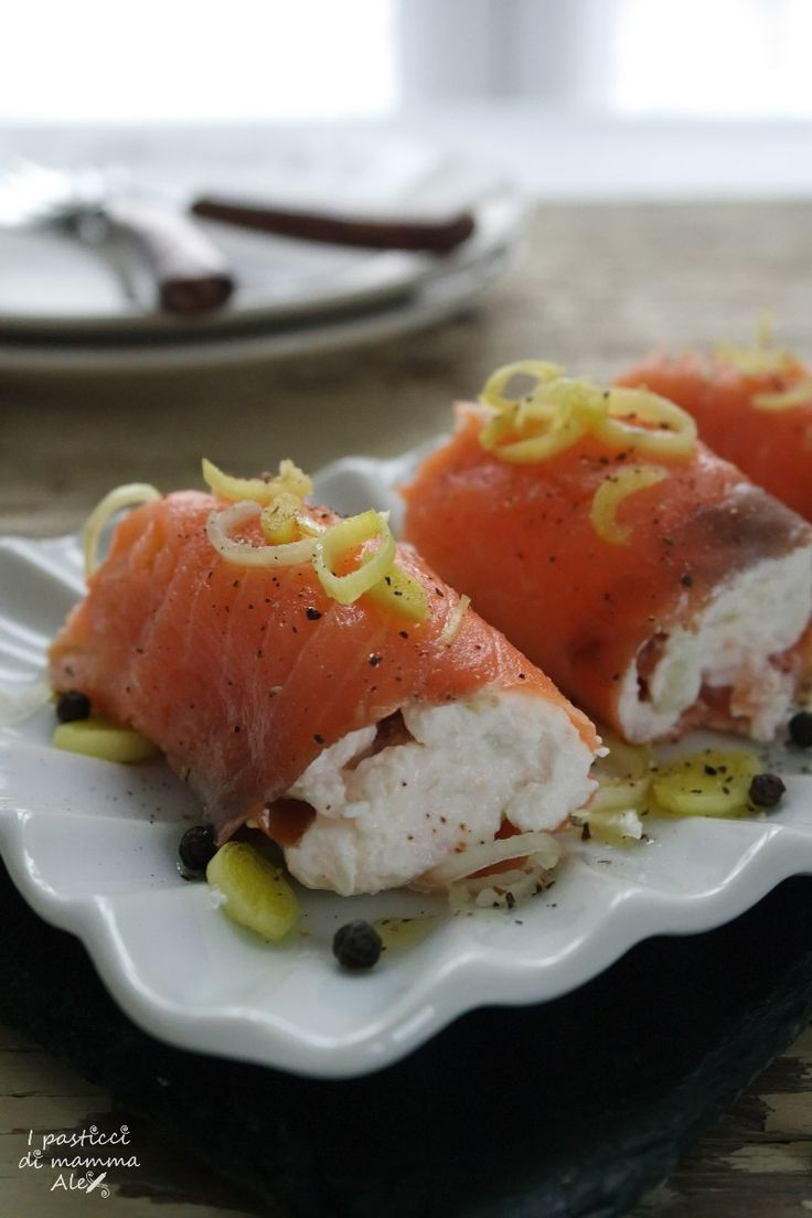 Antipasto di salmone sfizioso | I pasticci di mamma Alex
