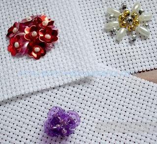 Вышивка бусинками и пайетками - мастер-класс