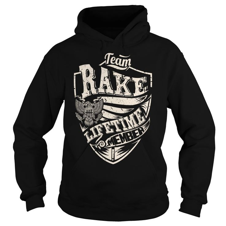 Team RAKE Lifetime Member Eagle T-Shirts, Hoodies. SHOPPING NOW ==► Funny Tee Shirts