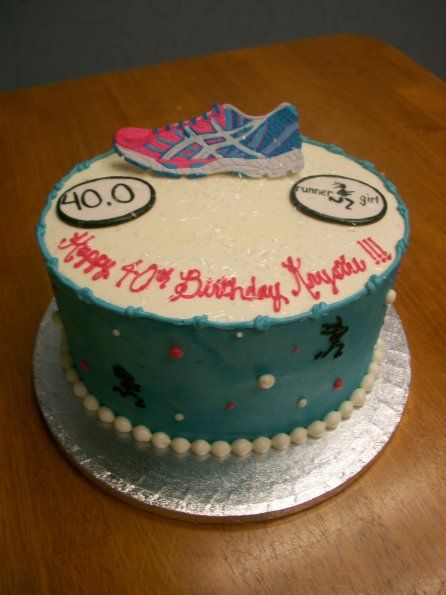 Birthday Cake Designs For Runners : 17 Best images about Cakes on Pinterest Nightmare before ...