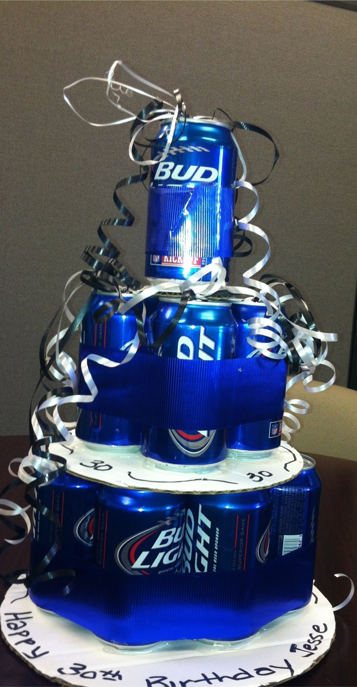 Beer Can Birthday Cake | Kim's Korner | Pinterest
