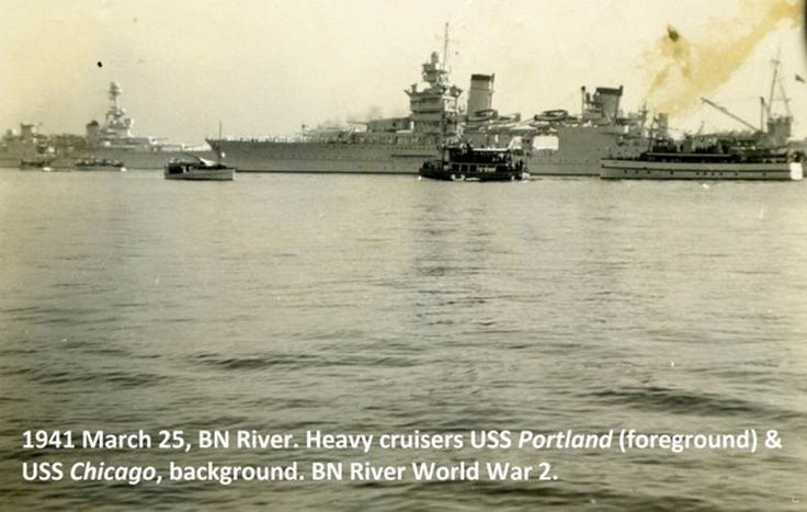 Brisbane River, 25 March 1941