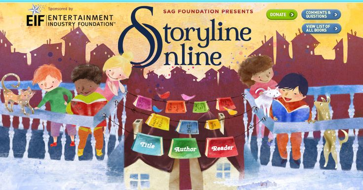 Storyline Online, books read online by actors. Great for class visits/lessons