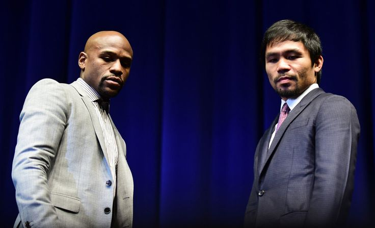 """http://pinterest.com/pin/7248049377084618/ How Much Do Pacquiao-Mayweather Tickets Cost? - NewYorker.com - May 1st, 2015 Manny Pacquiao and Floyd Mayweather at a press conference in March. - """"E.T. says: (Gather around, gang. We got another important meeting. Wait a minute. Let me put my little legs up for a moment. RIG? This Floyd Mayweather Jr. & Manny Pacquaio fight? What do you think about it of the results of Fight Night?) The Oil Rig says: (HERE'S OUR OPINION, E.T. A COMPLETE GLOBAL…"""