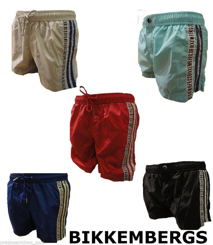 Boxer Mare Bikkembergs 2014 Uomo Costume da Bagno men Extra corto short HOMME