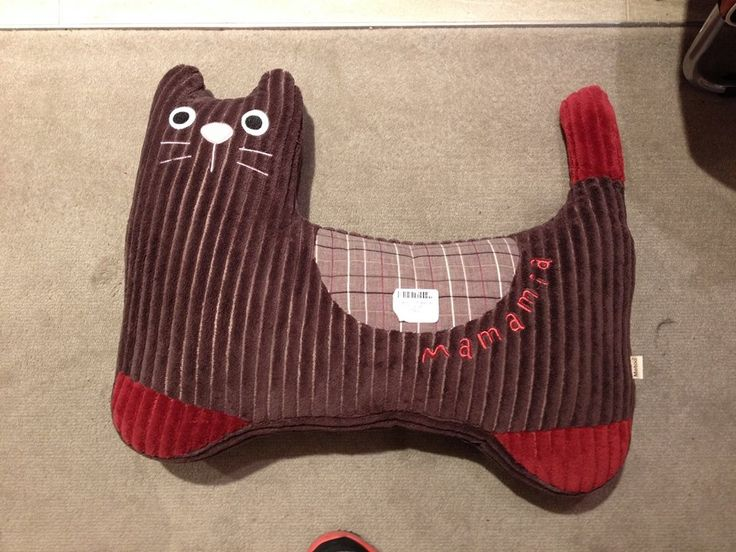 Brown Cat Cushion Was $25, Now $20! (Offer ends 24th July 2014)
