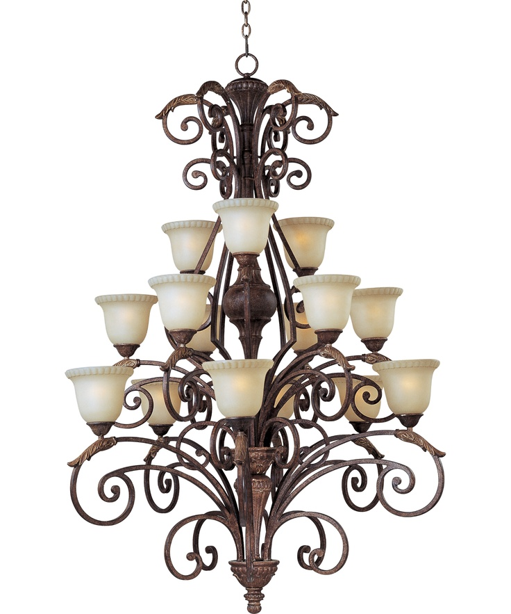 Wide Foyer Chandelier : Maxim lighting beaumont inch wide light chandelier