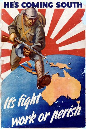 A classic Australian poster from World War II.
