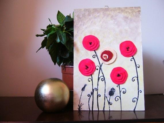 poppy #cards #poppy