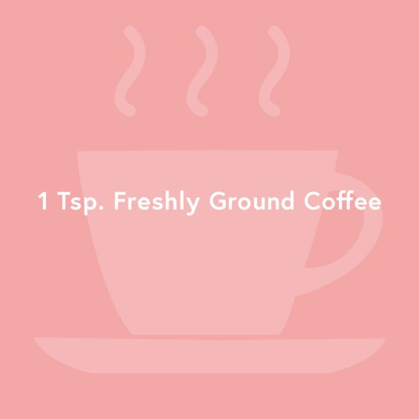 Eye-Soothing Solution - Caffeine has the ability to increase blood circulation. Brighten and tighten up youreye areaby dabbingcooled coffee groundsonto the surface.