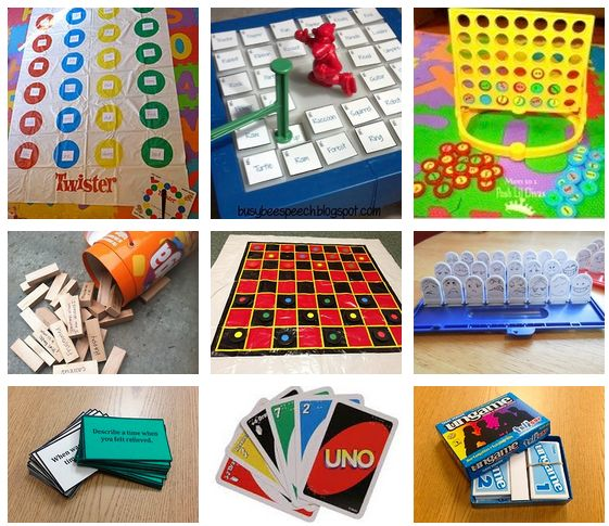 Follow the source link for ideas for adapting board games for therapy