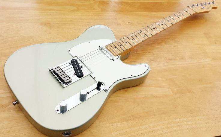 Fender USA Standard Telecaster 1997 Inca Silver