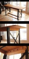 DIY Iron pipe Table by ~Nothing-Z3N on deviantART