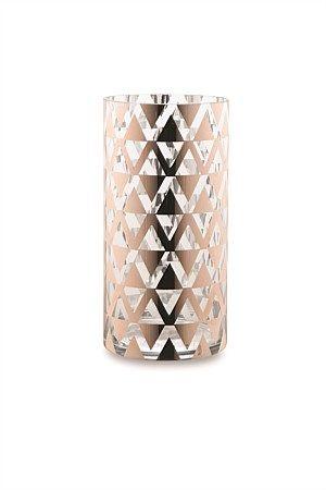 Citta Vase Spejl Copper Zig Zag