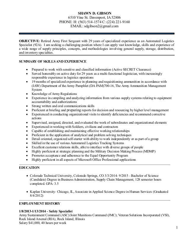 92a Resume Examples Resume Templates