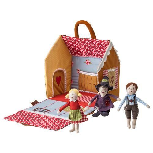 SAGOHUS παραμυθένιο σπίτι σετ 4 τεμ. - IKEA