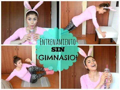Rutina SIN GIMNASIO!♡- Pautips - YouTube