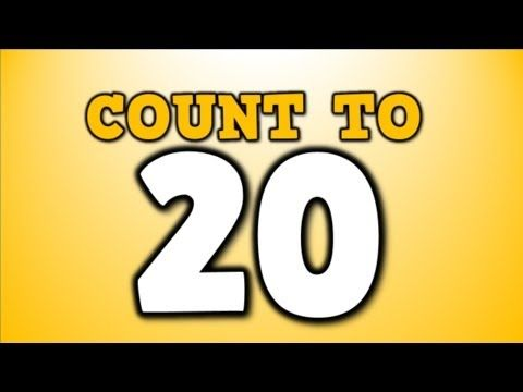 ▶ Count to 20! (counting song for kids) - YouTube (Harry Kindergarten)