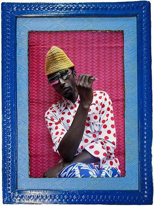 Hassan Hajjaj portraits: Keziah Jones