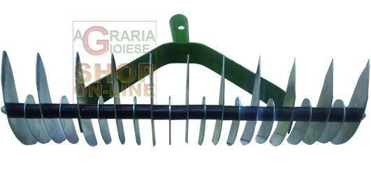 BLINKY RASTRELLO ASSOLCATORE IN ACCIAIO ZINCATO DENTI 11/21 http://www.decariashop.it/attrezzi-per-giardinaggio/21543-blinky-rastrello-assolcatore-in-acciaio-zincato-denti-11-21-8011779286665.html