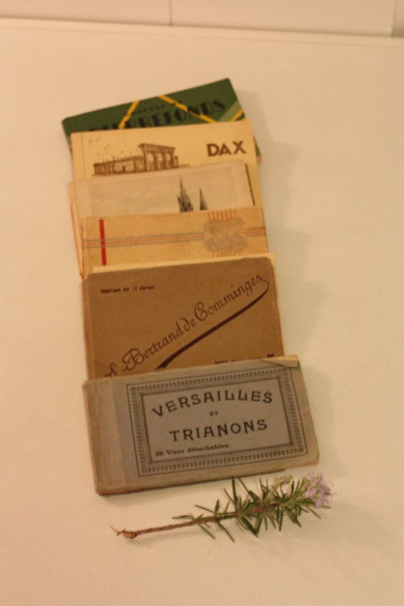 Antique Postcard books by MariusetJeannette