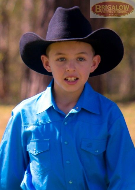 Boys Long Sleeve Western Shirt | Brigalow Country Clothing