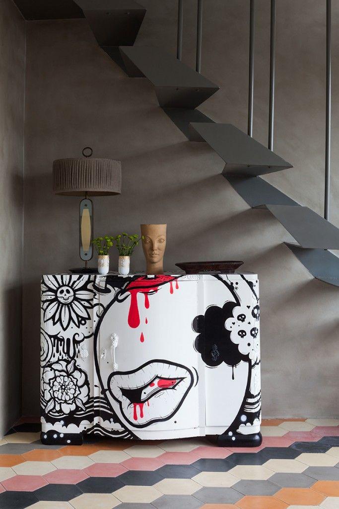 #excll #дизайнинтерьера #решения Апартаменты в Сан Паоло, интерьер которых полностью отображает яркий и красочный дух Бразилии в сочетании с современным ритмом жизни…