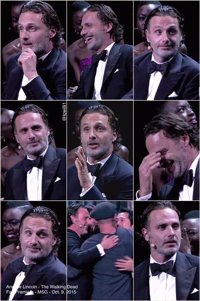 #LincolnLovers w/screen caps from the #TWDFanPremiere video extras  http://www.amc.com/shows/talking-dead/video-extras/season-06/episode-01/the-walking-dead-msg-premiere-event-fan-question…  #AndrewLincoln