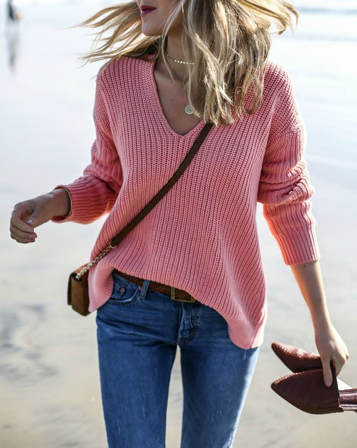 Coral Knit in Coronado | MEMORANDUM | NYC Fashion & Lifestyle Blog for the Working Girl