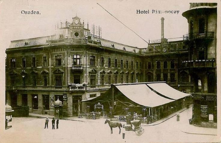 Oradea, Hotel, restaurant Rimonoczy - anii '20
