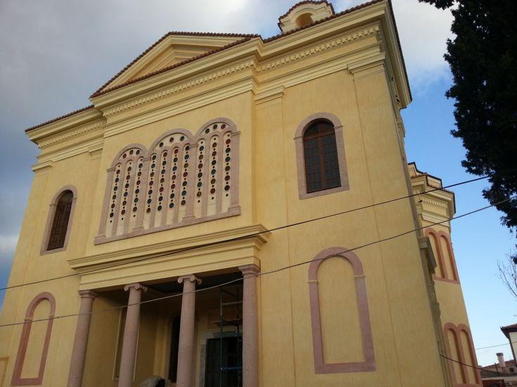 Cunda adası Taksiyaris kilisesi
