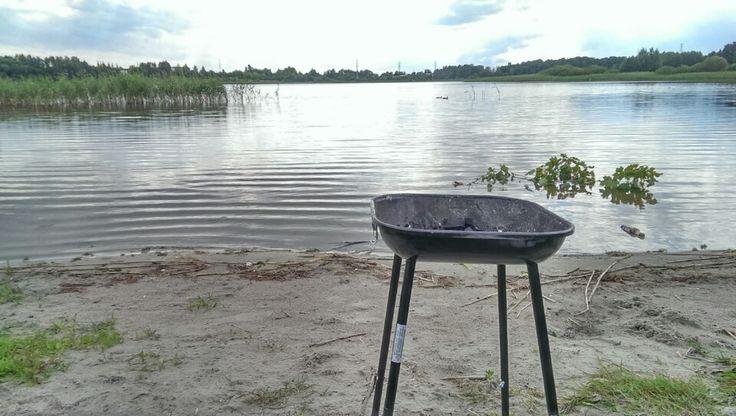 Jezioro Track in Olsztyn, woj. warmińsko-mazurskie