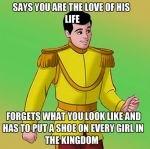 true story bro: Disney Prince, Funny Disney, True Love, So True, Disney Logic, Prince Charms, Disney Movie, Fairies Tales, Disney Memes